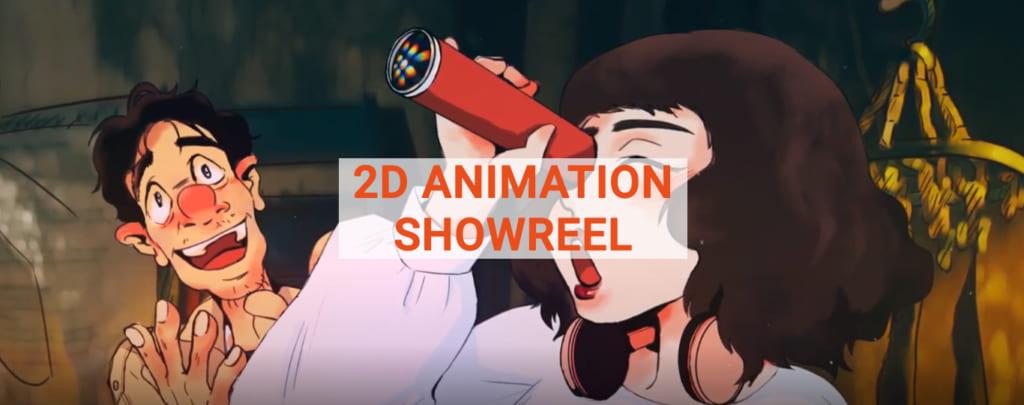 2D ANIMATION ANIME 1
